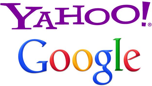 Yahoo & Google